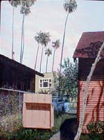 Gate, a painting by Pat Hartman that appears on the cover of Ghost Town